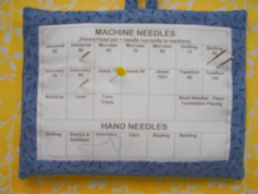 Needle Organiser Kit to sew into a Needle Cushion